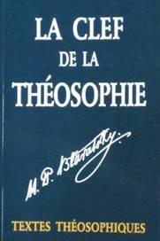 Photo couverture du livre La Clef de la Théosophie