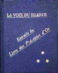 Photo couverture du livre La Voix du Silence (Texte origial 1889)