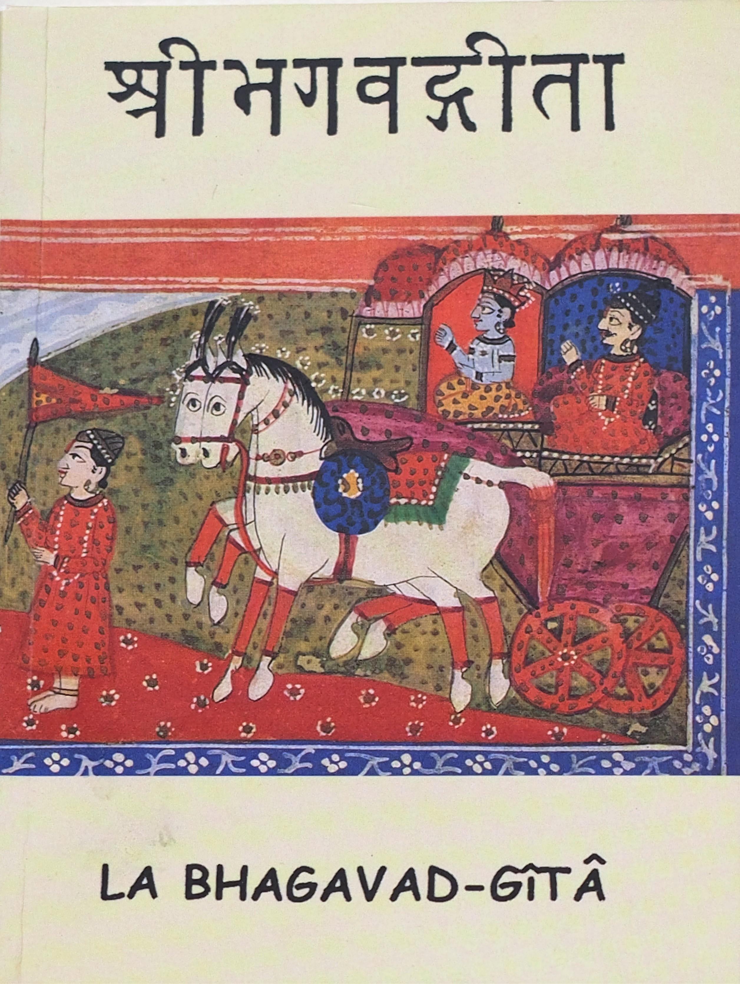Photo couverture du livre La Bhagavad-Gita