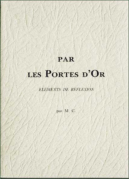 Photo couverture des livres Portes d'Or et La Lumière sur le Sentier
